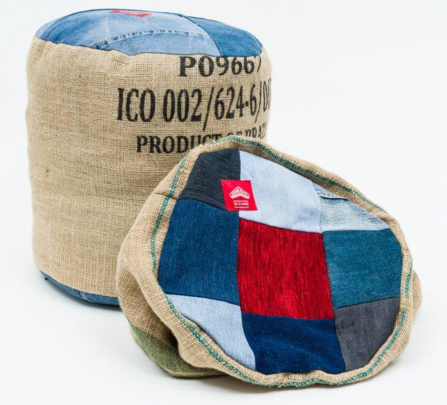 ottoman pouf casing boomerang bags. Black Bedroom Furniture Sets. Home Design Ideas
